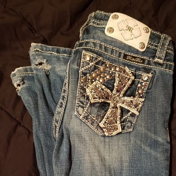 Miss Me Other - Miss me girls jeans size 14 bootcut